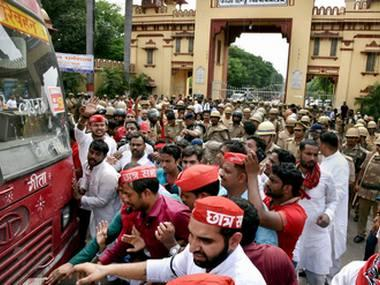 BHU student protests: 3 additional magistrates, 2 police officers removed; all colleges shut till 2 October