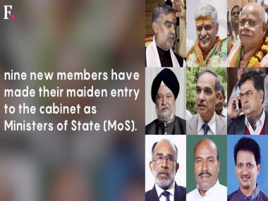 Cabinet reshuffle: 9 ministers, including party veterans, ex-diplomat in Narendra Modi's Council of Ministers