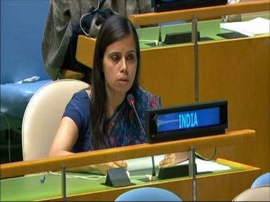 'Pakistan is now Terroristan': India's Eenam Gambhir hits back at Shahid Khaqan Abbasi's maiden UNGA speech