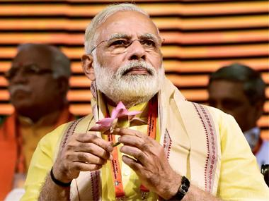 Gujarat Assembly Election 2017: Narendra Modi launches slew of development projects in poll-bound state