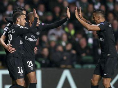 Champions League: Paris Saint-Germain's Neymar, Kylian Mbappe and Edinson Cavani run riot at Celtic