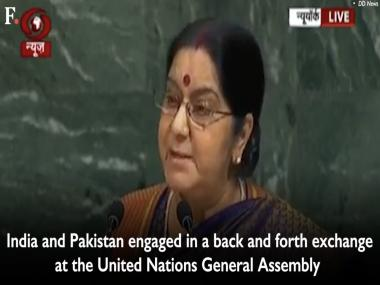 Sushma Swaraj at UNGA: External Affairs Minister should have diminished Pakistan on global stage by ignoring it
