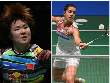 Live Japan Open Superseries Final, score and updates: Defending champion He Bingjiao faces Carolina Marin