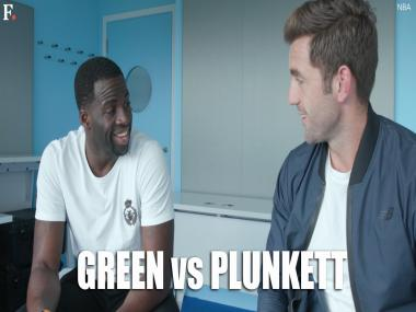 Watch: NBA star Draymond Green faces English pacer Liam Plunkett
