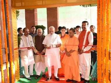 Narendra Modi in Varanasi: PM flags off Mahamana Express, inaugurates 17 projects, launches water ambulances