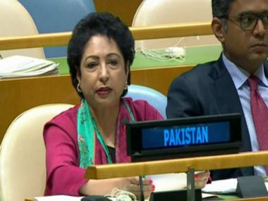 At UN, Pakistan's Maleeha Lodhi shows Gaza war victim's photo as face of Indian atrocities; draws flak