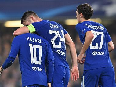 Champions League: Chelsea salvage point in AS Roma thriller; Manchester United, PSG Barcelona record wins