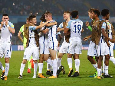 FIFA U-17 World Cup 2017 quarter-final, USA vs England, Football Match LIVE Score: Gibbs White scores for England