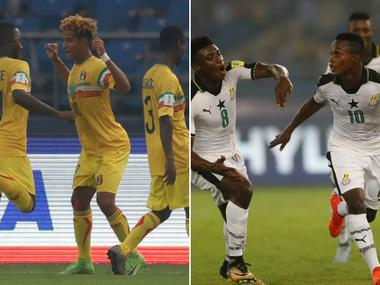 FIFA U-17 World Cup 2017 quarter-final, Mali vs Ghana, Football Match LIVE Score: Kudus Mohammed scores for Ghana