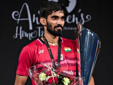 Denmark Open Superseries Premier: Kidambi Srikanth smashes tired Lee Hyun Il off the court to win title