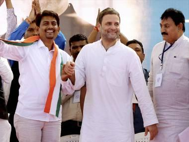 In Gujarat, Rahul Gandhi, with Alpesh Thakore, tears into BJP: Congress dubs saffron party as 'drameybaaz'