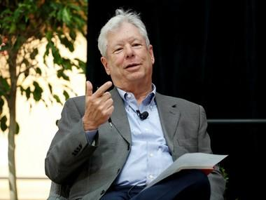Economics Nobel winner Richard Thaler, known for 'nudge' theory, says he wants to spend prize money irrationally