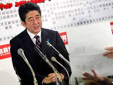 Shinzo Abe wins overwhelming mandate in Japan election: Victory likely to harden stance on North Korea's nuclear threat