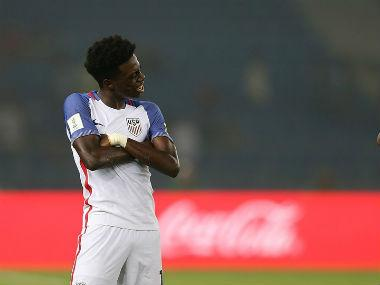 FIFA U-17 World Cup 2017: Tim Weah's hat-trick against Paraguay powers USA into quarter-finals