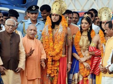 With Ram Mandir unattainable, Yogi Adityanath's Ayodhya visit showcased Ram statue as an 'alternate project'