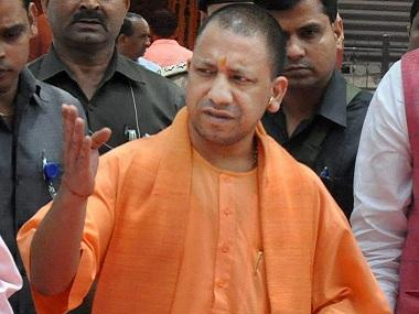 Uttar Pradesh cops force woman to remove burkha at Yogi Adityanath's Ballia rally; district police chief vows probe