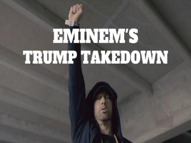 Eminem slams Donald Trump in freestyle rap; calls him 'kamikaze who'll cause nuclear holocaust'