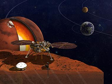 NASA is allowing you to send your name to Mars on a microchip on board the InSight mission