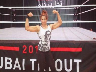 Watch: Kavita Devi becomes first Indian woman to sign with WWE