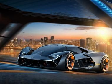 Lamborghini and MIT partner to present the new design concept car Terzo Millennio