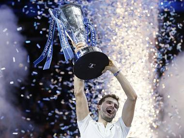 ATP Finals: Grigor Dimitrov prevails in three-set encounter to become first debutant since 1998 to win title