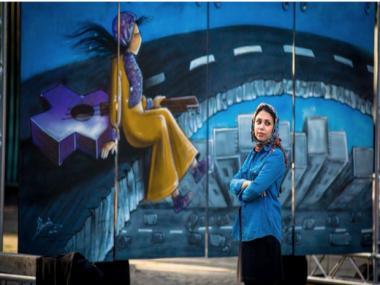 Shamsia Hassani, Afghanistan's first female graffiti artist, wants people to make art, not war