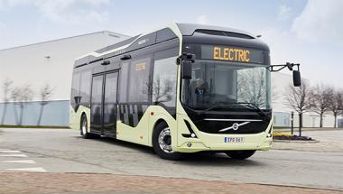 Volvo tests new generation all-electric bus