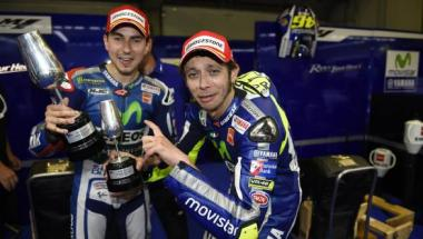 2015 <b>MotoGP</b>: Possible race results at Valencia and the championship outcomes in each case