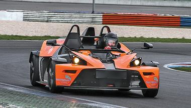 Xcalibre: KTM X-Bow at the Lausitzring