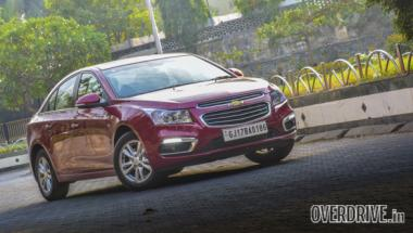 2016 Chevrolet Cruze launched in India at Rs 14.81 lakh