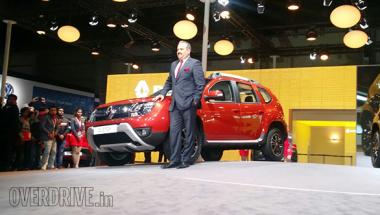 2016 Auto Expo: New <b>Renault</b> Duster Easy-R AMT unveiled