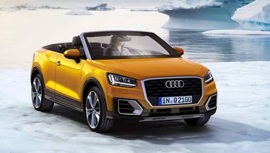 Audi Convertible Suv Rendered