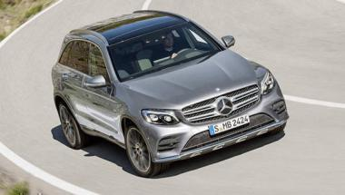 Image gallery: <b>Mercedes-Benz</b> GLC SUV
