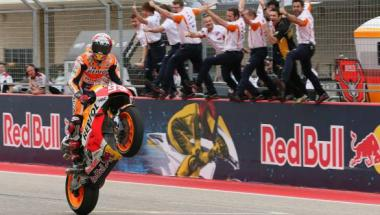 <b>MotoGP</b> 2016: Marc Marquez continues COTA domination with fourth straight win