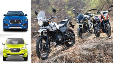 OVERDRIVE show this week: RE Himalayan comparo, Redi-GO unveil and F-Pace first drive