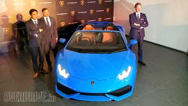 Lamborghini Huracan Spyder Launched In India At Rs 3 89 Cr Firstpost