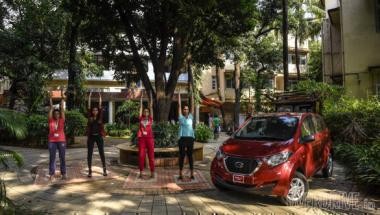 Advertorial: Drive to Mumbai to learn about Yoga in the Datsun redi-Go