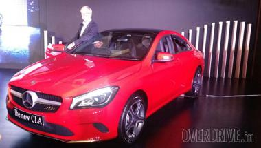2017 Mercedes-Benz CLA facelift launched in India at Rs 31.40 lakh
