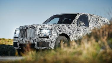 Rolls-Royce starts testing the Project Cullinan SUV in extreme weather