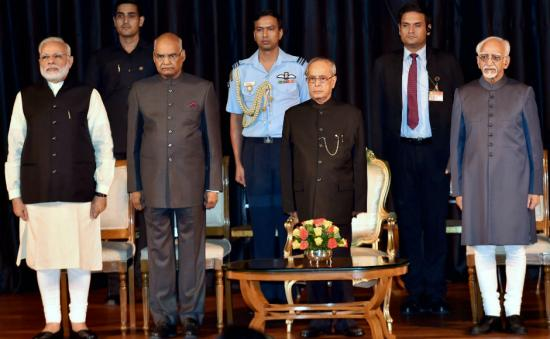 Narendra Modi releases book of Pranab Mukherjee's selected speeches, thanks outgoing president for guidance