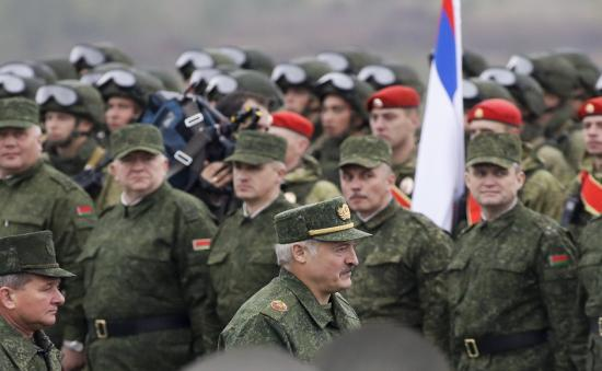 Russia shows its might in war games with Belarus but dismisses Western fear of threat