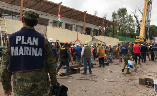 Strong 6.2-magnitude earthquake shakes Mexico as country continues to recover from last week's tremors