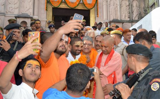 Yogi Adityanath visits Ayodhya's Ram Janmabhoomi site, says it is his 'duty to develop' temple town