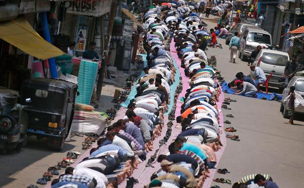 In the name of Allah: Muslims all over the world observe Ramzan