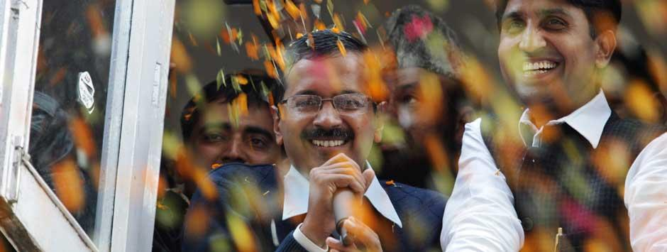 Delhi live: Responsibility put on me is scary, admits Kejriwal