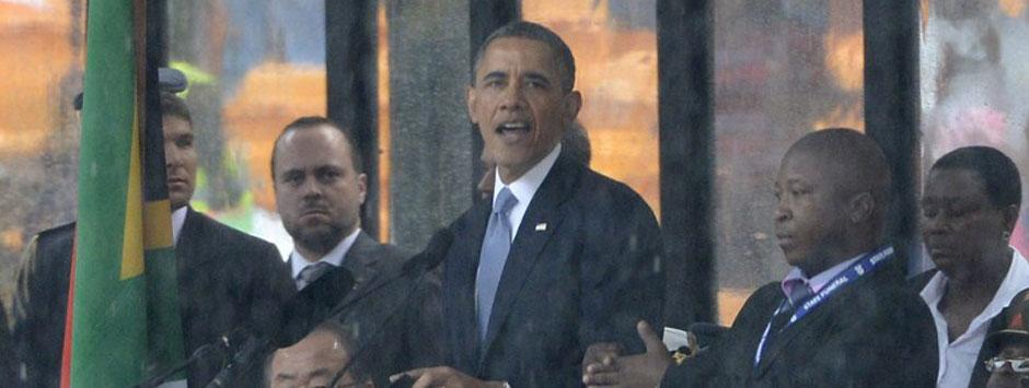 Live: Mandela makes me want to be a better man, says Obama