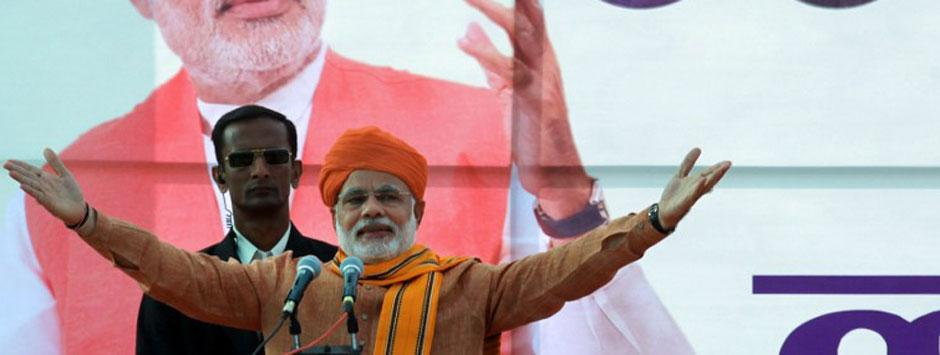 Bellwether Lok Sabha poll survey shows Modi effect in UP, Bihar