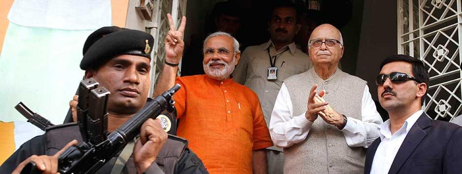 Modi, Rajnath get to pick seats, Advani to wait for final BJP list