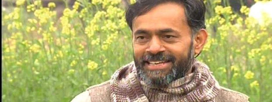 In Mewat, Yogendra Yadav banks on Modi threat