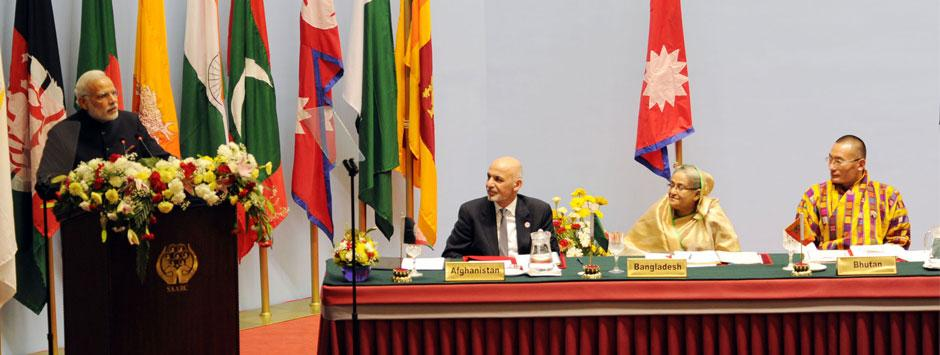Read between the lines: Modi's South Asia strategy reveals itself at SAARC